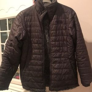 North Face jacket, reversible